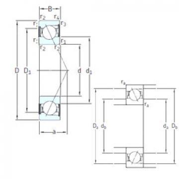 Bantalan SS7212 CD/HCP4A SKF