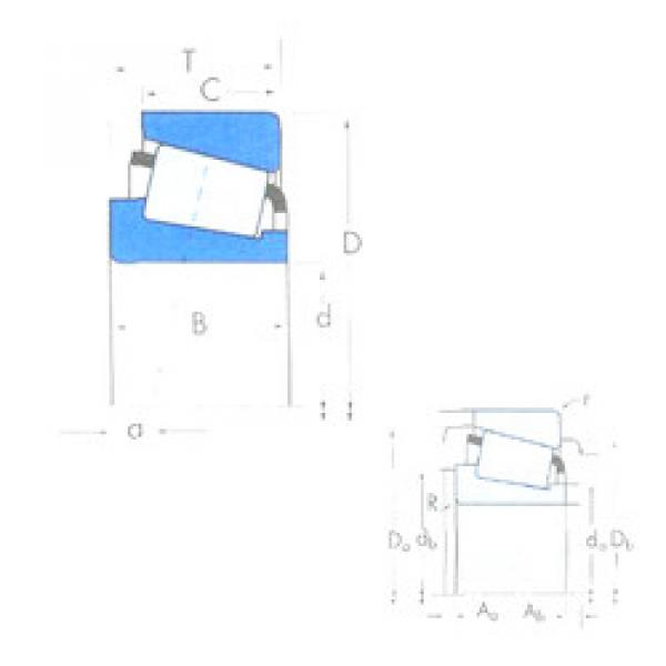 Bantalan 28579/28520 Timken #1 image
